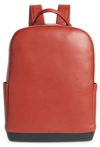 Moleskine Leather Backpack