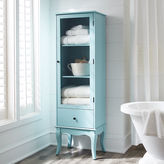 Pier 1 Imports Toscana Tall Sky Blue Cabinet