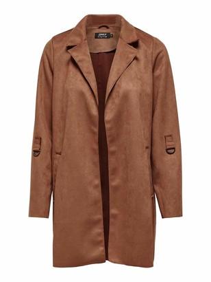 Only Women's ONLJOLINE Faux Suede Coat CC OTW