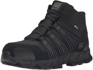 Timberland Men's Powertrain Mid Alloy Toe ESD Industrial Hiking Boot