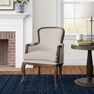 Three Posts Grothe Armchair Finish: Ash Brown