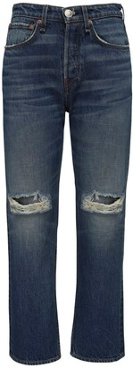 Rag & Bone Maya High Waist Denim Straight Leg Jeans