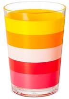 Plastic Short Tumbler 16oz Pink and Yellow