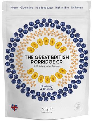 The Great British Porridge Com Blueberry & Banana Instant Porridge 385g