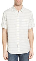 True Grit Men's Newport Stripe Sport Shirt