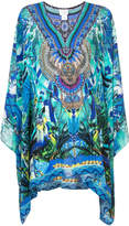 Camilla multi-print flared dress