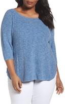 Eileen Fisher Plus Size Women's Organic Cotton Sweater
