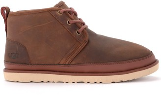 UGG Neumel Boot In Chestnut Colored Leather