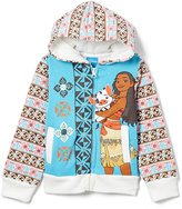 Children's Apparel Network Moana Hooded Zip-Up - Toddler & Girls