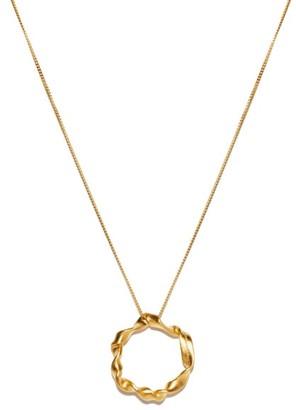 COMPLETEDWORKS Flux 14kt Gold-vermeil Necklace - Yellow Gold