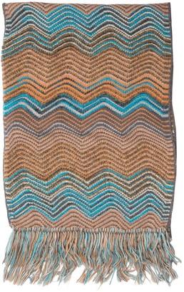 Missoni Brown Wool Scarves & pocket squares