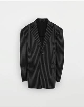 Maison Margiela Oversized Striped Blazer