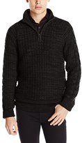Calvin Klein Jeans Men's Basket Texture 1/4 Zip Sweater