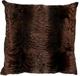 Oscar de la Renta Fur Throw Pillow