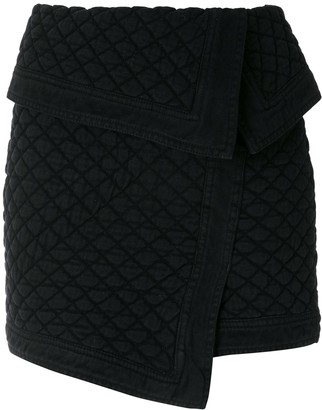 Andrea Bogosian Sandovia quilted mini skirt