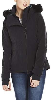 Bench Women's Core Asymmetrical Jacket Black Beauty Bk11179