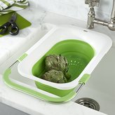 Crate & Barrel Collapsible Over the Sink Colander