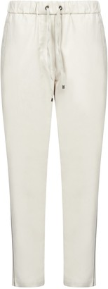 Brunello Cucinelli Embellished Pipping Track Pants