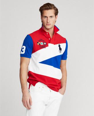 Ralph Lauren Yacht-Crest Mesh Polo Shirt - All Fits
