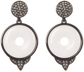 House Of Harlow Drop White Agate Small Earrings