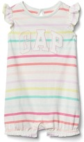Gap Logo stripe flutter short one-piece