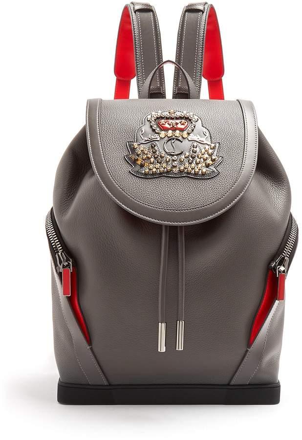 Christian Louboutin Explorafunk stud-embellished backpack