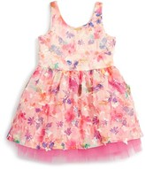 Baby Sara Infant Girl's Floral & Tulle Dress