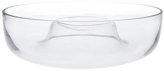 Alex Liddy Slate & Co Round Glass Chip & Dip Bowl 28cm