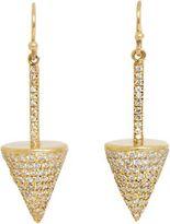 Jennifer Meyer Diamond Classic Pyramid Drop Earrings