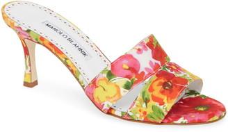 Manolo Blahnik Iacopo Double Band Sandal