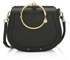 Chloé Medium Nile Leather& Suede Bracelet Bag