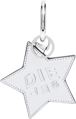 Diesel Metallic Star Keyring