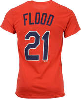 Majestic Men's Curt Flood St. Louis Cardinals Cooperstown Player T-Shirt