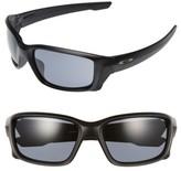 Oakley Women's Straightlink 61Mm Sunglasses - Black/ Sapphire Iridium