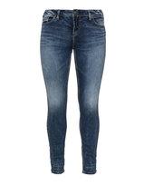 Silver Jeans Plus Size Suki slim fit jeans