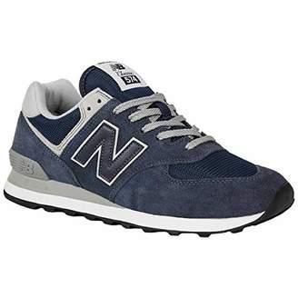 New Balance Men's Ml574 D Low-Top Sneakers, (Egn Black Iris 10), UK