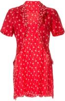 Comme des Garcons Pre Owned floral dress, underskirt & bolero set