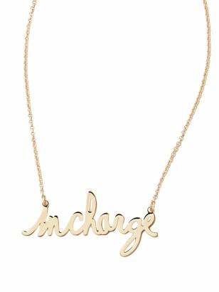 Diane von Furstenberg InCharge Gold Necklace ONE Size