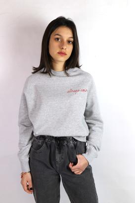 Maison Labiche Attrape Coeur Sweatshirt - XS . | cotton | grey - Grey/Grey
