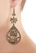 Alberta Ferretti Embellished Chandelier Earrings