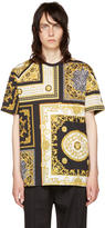 Versace Black and Gold Medusa T-shirt