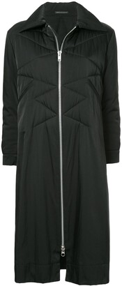 Yohji Yamamoto Pre-Owned Quilted Long Coat