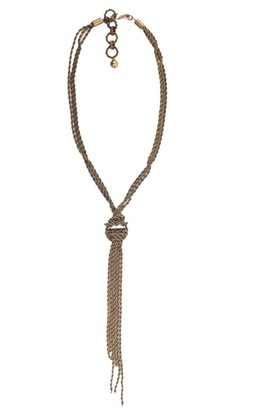 Lanvin Knotted Necklace