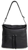 Elizabeth and James Finley Leather Hobo Bag - Black