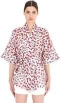 Aciel Liberty Cotton Poplin Kimono Jacket