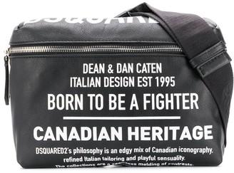 DSQUARED2 Logo Print Belt Bag
