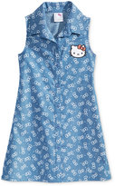 Hello Kitty Chambray Dress, Toddler & Little Girls (2T-6X)