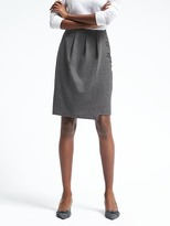 Banana Republic Ponte Pencil Skirt