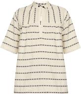 Ace&Jig Saltspring woven-cotton top