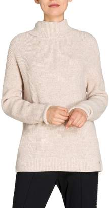 Olsen Golden Glam Turtleneck Sweater